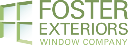 foster exteriors window company logo